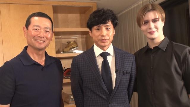 11日、18日放送『バース ・ デイ 』で桑田真澄&Mattに東山紀之が自宅直撃取材(C)TBSの画像