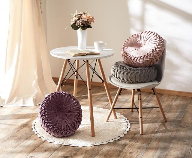 人気商品『円形クッションダリア』の画像
