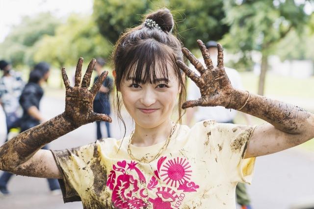 10月期木曜プラチナイト放送のドラマ『アンラッキーガール!』をクランクインした福原遥 (C)ytvの画像