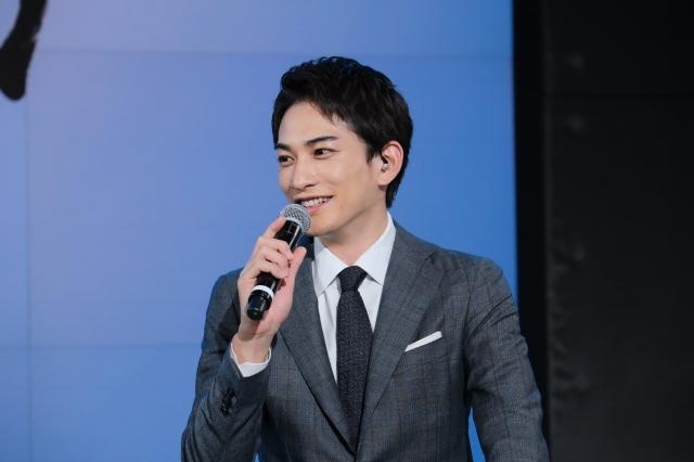 大河ドラマ『青天を衝け』オンラインスペシャルトークに登壇した町田啓太(C)NHKの画像