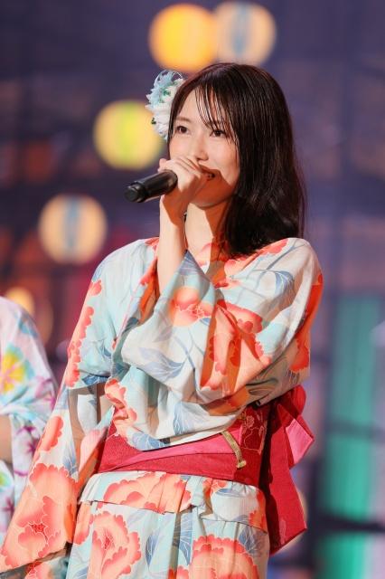 AKB48卒業を発表した横山由依 (C)AKB48の画像