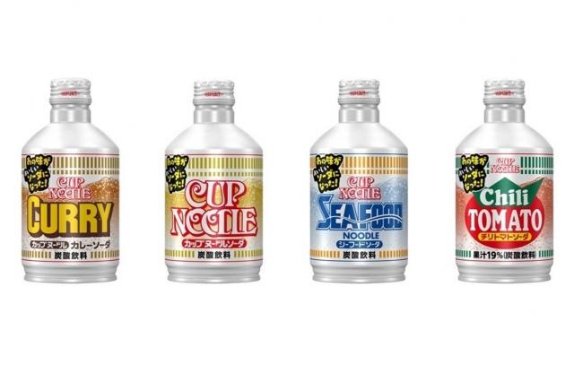 「カップヌードル ソーダ」全4種の画像