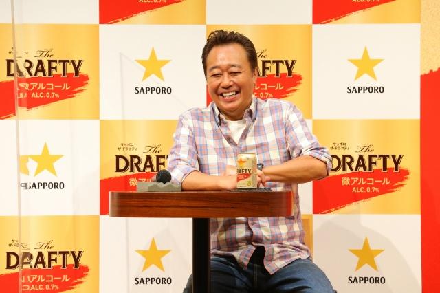 『サッポロThe DRAFTY』新CM発表会に参加したさまぁ~ず・三村マサカズの画像