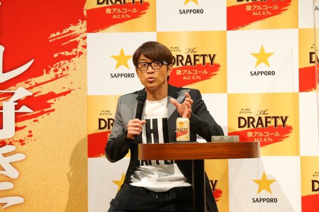 『サッポロThe DRAFTY』新CM発表会に参加したさまぁ~ず・大竹一樹の画像