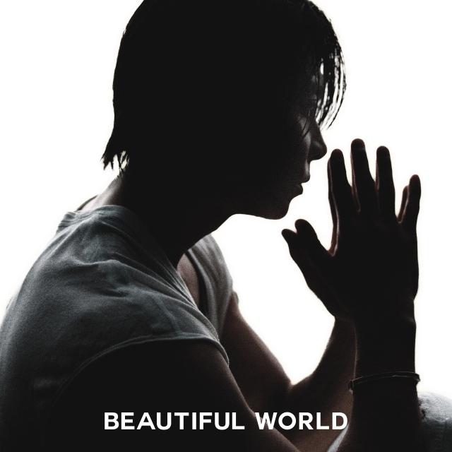 山下智久の最新曲「Beautiful World」ジャケット写真の画像