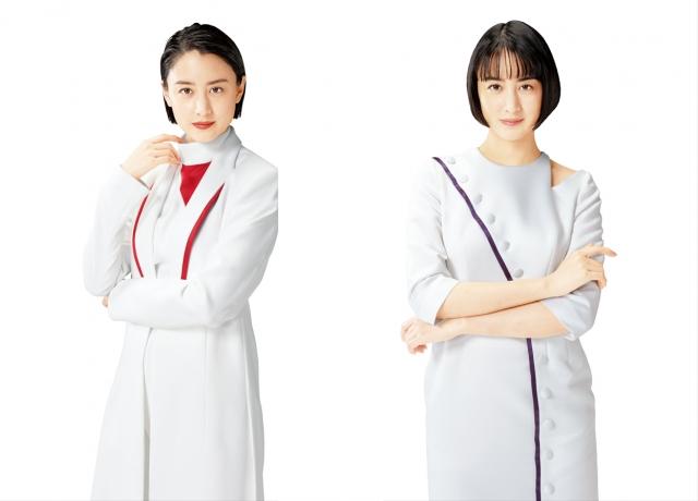 シオノギヘルスケアのかぜ薬「パイロンPL顆粒Pro」(左)とせき止め薬「メジコンせき止め錠Pro」(右)のCMに出演する山本美月の画像