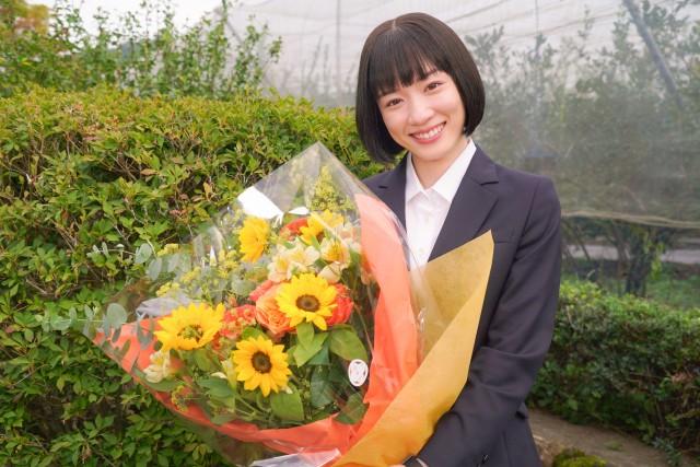 『ハコヅメ~たたかう!交番女子~』をクランクアップした永野芽郁 (C)日本テレビの画像