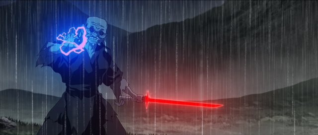 スタジオ「TRIGGER」大塚雅彦監督による『The Elder』=『スター・ウォーズ:ビジョンズ』9月22日午後4時より、ディズニープラスで独占配信(C)2021 TM & (C) Lucasfilm Ltd. All Rights Reserved.の画像