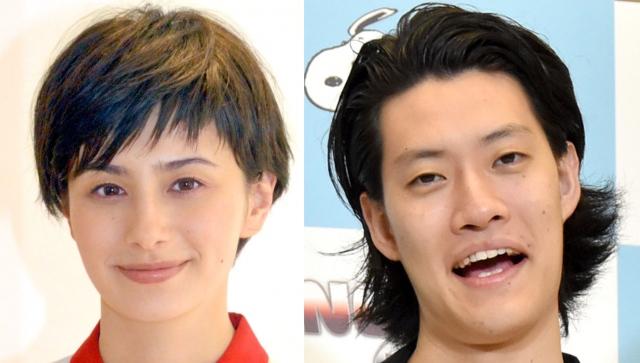 (左から)ホラン千秋、粗品 (C)ORICON NewS inc.の画像