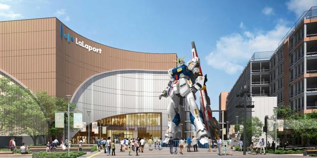 実物大ガンダムを設置するららぽーと福岡のイメージ(C)創通・サンライズの画像