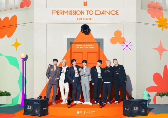 『PERMISSION TO DANCE ON STAGE』を開催するBTSの画像
