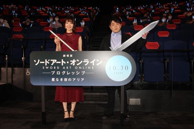 人気アニメシリーズの10年を振り返った(左から)戸松遥、松岡禎丞 (C)ORICON NewS inc.の画像