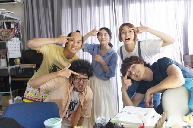 26日午後8時から『武士スタント逢坂くん!』LINEライブ&インスタライブを実施 (C)ヨコヤマノブオ・小学館/NTV・J Stormの画像