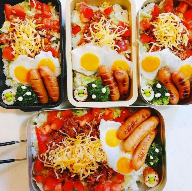 「子どもの弁当作りが趣味に」みっくんさんのお弁当(画像提供:@0724mikkun)の画像