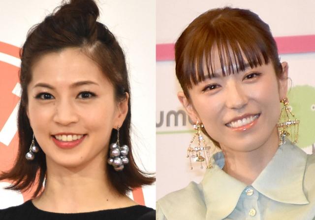 (左から)安田美沙子、若槻千夏 (C)ORICON NewS inc.の画像