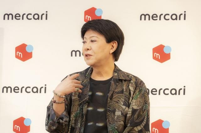 『敬老の日 60歳からのメルカリセットお披露目イベント』に出席した美川憲一の画像
