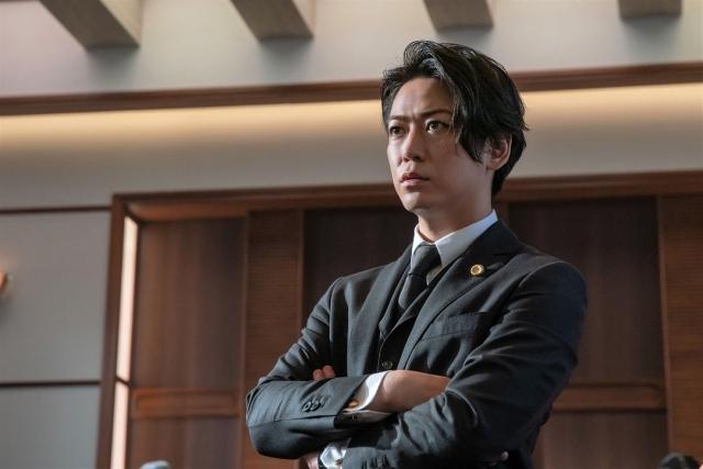 『正義の天秤』で主演を務める亀梨和也(C)NHKの画像