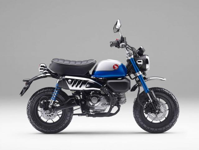 新エンジンを搭載し発売となった、Honda『モンキー125』の画像