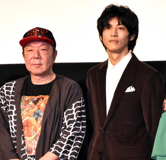 古田新太(左)との映画初共演を語った松坂桃李 (C)ORICON NewS inc.の画像