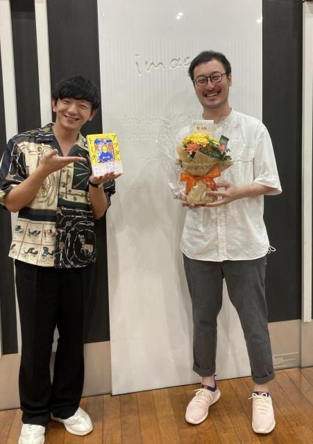 石井玄氏の初エッセイ『アフタートーク』(KADOKAWA)発売記念トークショーの模様の画像