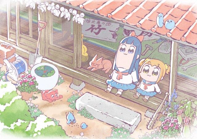 アニメ『ポプテピピック』のキービジュアルの画像