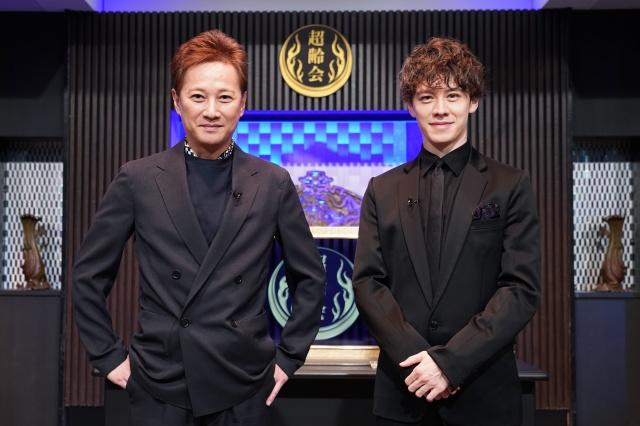 3日放送『中居ウエンツとアウトエイジ』ダブルMCを務める(左から)中居正広、ウエンツ瑛士 (C)日本テレビの画像