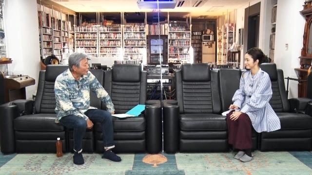 『小倉ベース』で対談を行う小倉智昭、上戸彩(C)フジテレビの画像