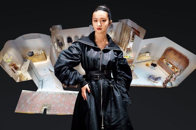 『エル デジタル 25周年特別企画 バーチャル・ポップアップストア』でショッピングを体験したKoki,の画像