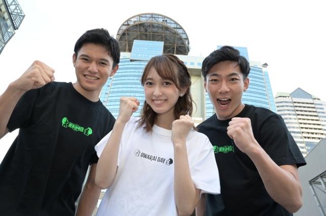 新人アナウンサーの(左から)高柳光希、佐々木舞音、小沢光葵(C)TBSの画像