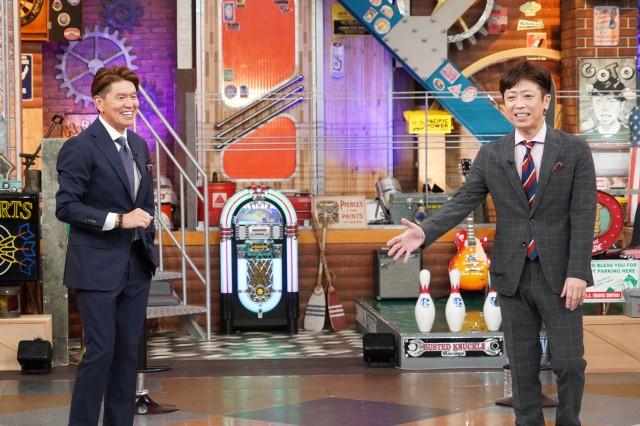 28日放送『ウチのガヤがすみません!』最終回に出演するヒロミ、後藤輝基(フットボールアワー) (C)日本テレビの画像
