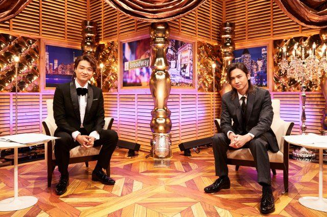 「第74回トニー賞授賞式」(字幕版)は10月2日、WOWOWライブ、WOWOWオンデマンドで放送・配信。井上芳雄(左)がナビゲーター、堂本光一(右)がスペシャル・プレゼンターとして出演の画像