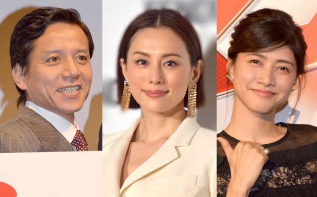 (左から)勝村政信、米倉涼子、内田有紀 (C)ORICON NewS inc.の画像