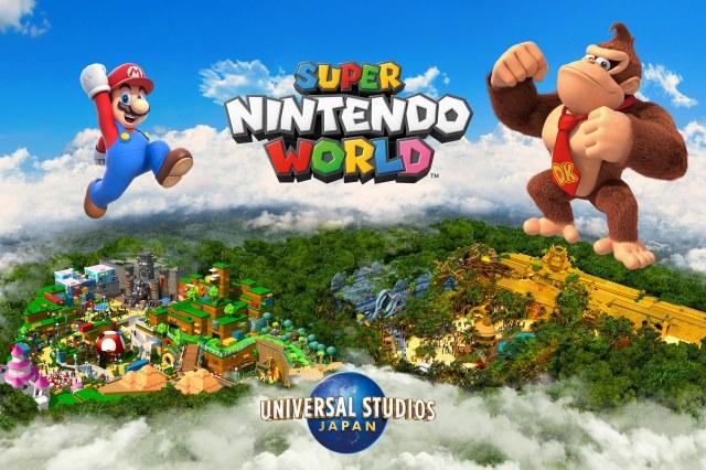USJ『スーパー・ニンテンドー・ワールド 』第2エリアのテーマは『ドンキーコング』  画像提供:ユニバーサル・スタジオ・ジャパン(C)Nintendoの画像