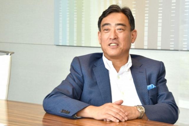 今年6月にソニー銀行の代表取締役社長に就任した南啓二氏 (C)oricon ME inc.の画像