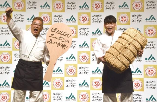 健康の大切さをかみしめたサンドウィッチマン(左から)伊達みきお、富澤たけし (C)ORICON NewS inc.の画像
