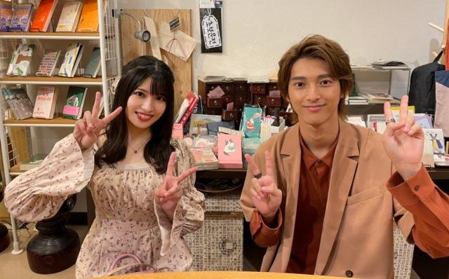 『よるのブランチ』の人気企画「東京韓流デート」に出演する(左から)行天優莉奈、木原瑠生 (C)TBSの画像
