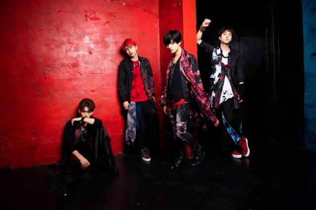 4人組ダンス&ボーカルグループ・WHiSANT(フィザント)の画像