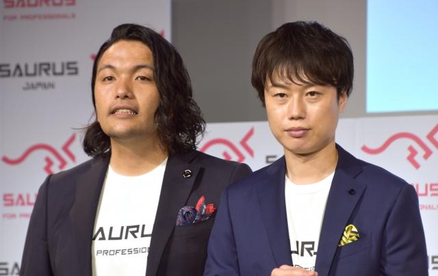 見取り図(左から)盛山晋太郎、リリー(C)ORICON NewS inc.の画像