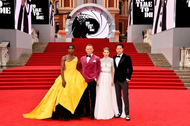 ロンドンで恒例のワールドプレミア開催=映画『007/ノー・タイム・トゥ・ダイ』(10月1日公開)(C)Danjaq, LLC and Metro-Goldwyn-Mayer Studios Inc.All Rights Reserved.の画像