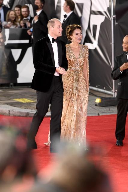 ウイリアム王子とキャサリン妃が来場=映画『007/ノー・タイム・トゥ・ダイ』(10月1日公開)(C)Danjaq, LLC and Metro-Goldwyn-Mayer Studios Inc.All Rights Reserved.の画像