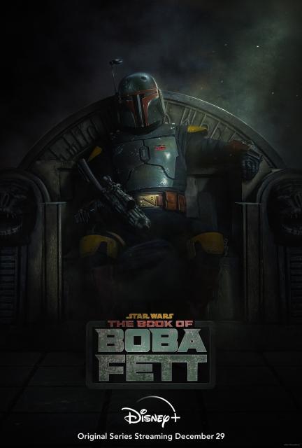 オリジナルドラマシリーズ『ボバ・フェット/The Book of Boba Fett』12月29日よりディズニープラスで独占配信(C)2021 Lucasfilm Ltd.の画像