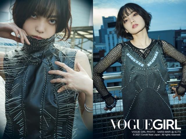 『VOGUE GIRL』企画「GIRL OF THE MONTH」に登場した平手友梨奈の画像