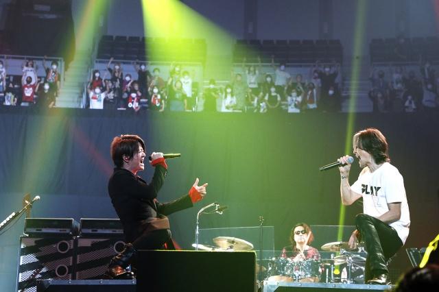 B'zとMr.Childrenがともに2年ぶりの有観客ライブで夢のコラボレーションの画像