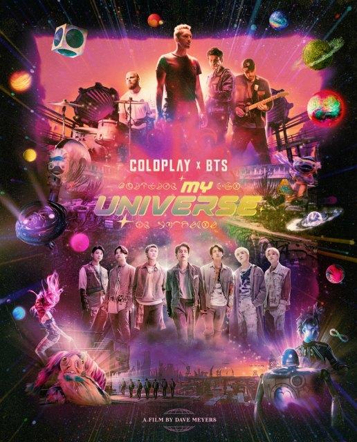コールドプレイ×BTSがコラボ曲「My Universe」MV解禁の画像
