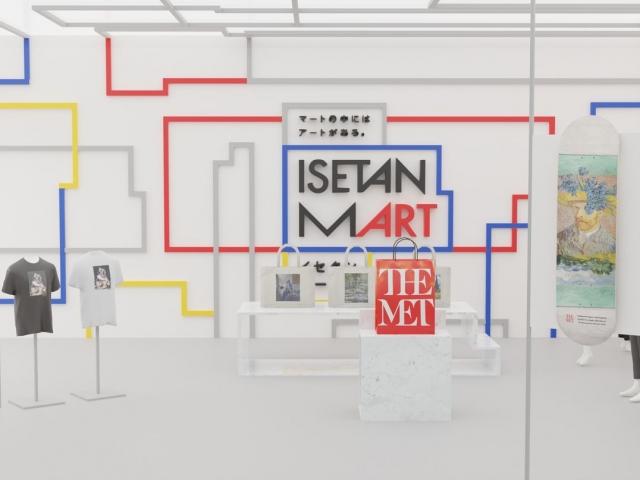 『REV WORLDS』に新設した『イセタンマート』の画像
