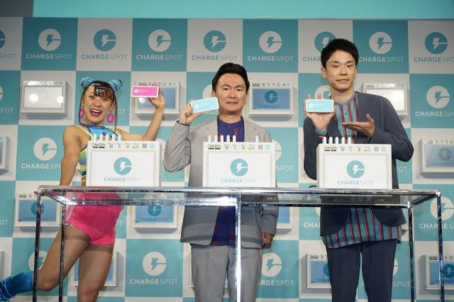 売れっ子で多忙を極める(左から)フワちゃん、山内健司、濱家隆一の画像