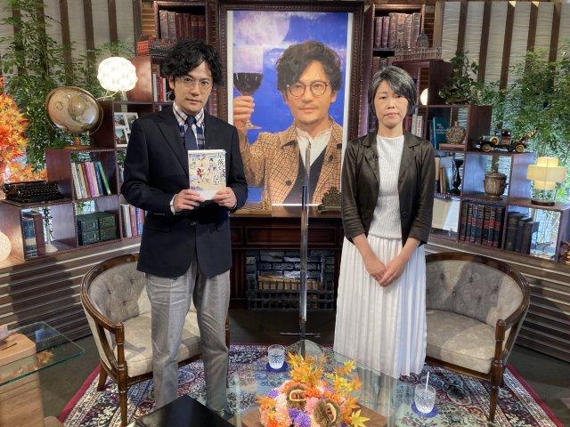 (左から)稲垣吾郎、澤田瞳子氏の画像