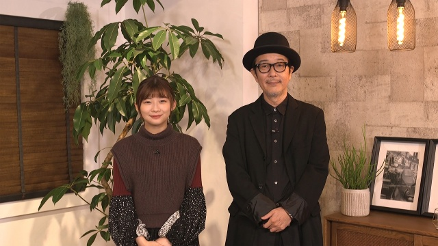 『ザ・ニュージックビデオ』に出演する(左から)伊藤沙莉、リリー・フランキー (C)テレビ朝日の画像