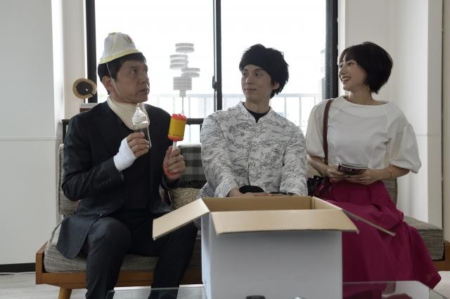 ドラマスペシャル 『ドクターY』に出演する片岡信和(中央) (C)テレビ朝日の画像