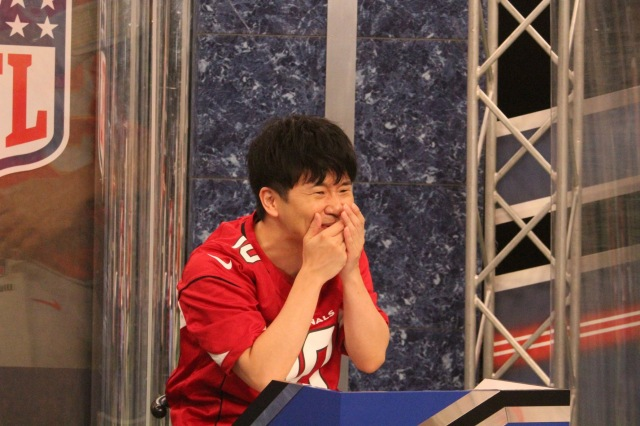 9月30日深夜放送の日本テレビ『オードリーのNFL倶楽部』の画像